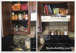 Spice Cabinet Organization Nashville Wife Kitchen Organization Without A Pantry