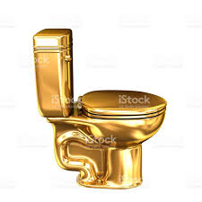 golden wc toilet stock photo 655934880 istock