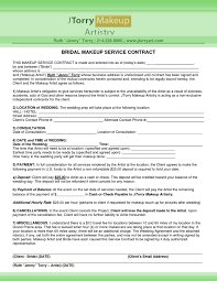 wedding contracts for makeup artists wedding makeup contract the world of make up