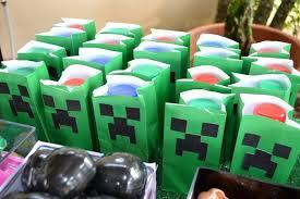 minecraft party favors kara s party ideas minecraft themed birthday party via kara s