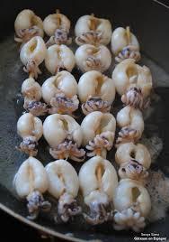cuisiner des seiches gâteaux en espagne brochettes de seiche avec de la mayonnaise à l ail