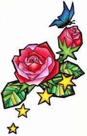 stained glass rose tattoo by snowybunny16 on deviantart