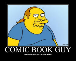 Guy Reading Book Meme - comic book guy mitc productions