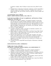 Higher Education Resume Dr J Brent Cooper Cv Higher Education Spring 2016 Linkedin 6 21 16