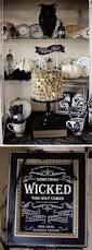 20 Elegant Halloween Decorating Ideas How To Get A Gothic Style Haunted Halloween Mantel Budgeting