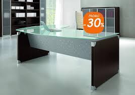 bureaux direction bureau direction bois et verre avec métal modèle bench 02