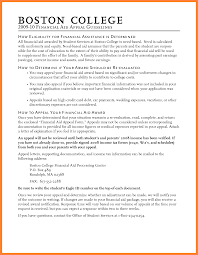 how to write an appeal letter for financial aid probation cover