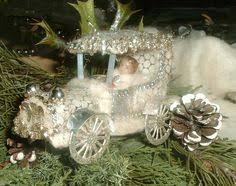 lamb pen christmas ornament german sebnitz style reserved for