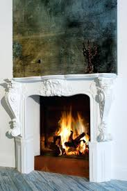contemporary modern fireplace screens traditional room glass