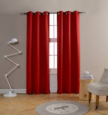 Crushed Voile Sheer Curtains by Red Window Curtain Panels Sale U2013 Ease Bedding With Style