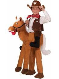 child ride on horse costume wild west knight costume and costumes