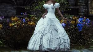 wedding dress skyrim merry christmas and skyrim 3 0 update skyrim