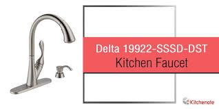 delta ashton kitchen faucet delta 19922 sssd dst ashton single handle pull kitchen faucet