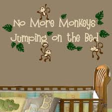 nursery wall decals for boys colorful baby boy room decor full size of baby nursery monkey wall decals for nursery no more monkeys jumping on