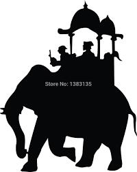 safari truck clipart aliexpress com buy sale indian elephant safari silhouette
