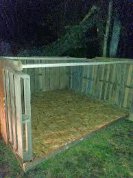 my simple life easy diy pallet goat house u2026 pinteres u2026