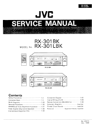 jvc rx301bk l service manual immediate download