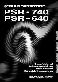 yamaha manuals download yamaha psr 640 owner u0027s manual for free manualagent