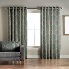 Jeff Banks Duvet Jeff Banks Home Cyrus Teal Lined Eyelet Curtains Debenhams