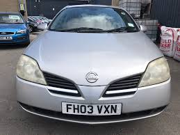 used nissan primera 2003 for sale motors co uk