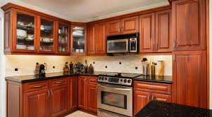 a cherry wood kitchen cabinet cherry wood cabinets pros and cons outside the box