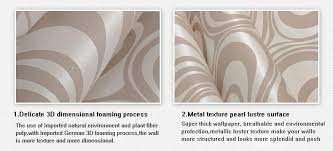 modern luxury 3d wallpapers roll mural flocking striped wall paper