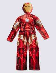ironman halloween costume kids u0027 iron man dress up costume m u0026s