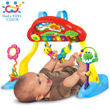 baby crib lights toys huile toys 786 baby play mat deluxe music activity gym and crib