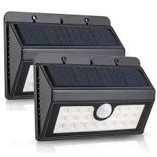 solar motion sensor outdoor light solar lights 20 led solar powered wireless waterproof motion