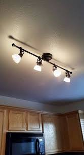 Kitchen Track Light Fixtures by Updating Fluorescent Lighting Kitchen Decor Pinterest