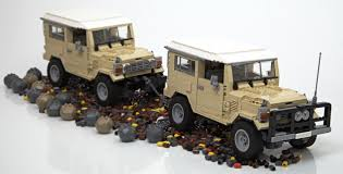 lego honda element lego ideas toyota landcruiser 40 series