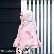 blouse wanita ribbonbell blouse wanita baju atasan muslim blouse bliuse