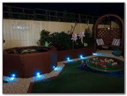 solar powered led deck lighting decks home decorating ideas
