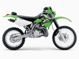 kawasaki kdx underlining a new project