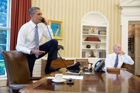 Barack Obama Oval Office How Presidential Phone Calls Get Made Business Insider