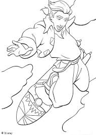 treasure planet 4 coloring pages hellokids