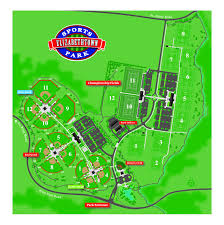 Washington Park Map by Sports Park