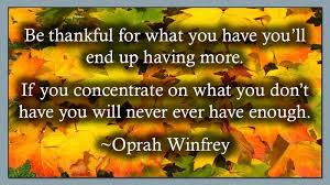 happy thanksgiving quotes by oprah winfrey tidbits of