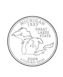 pennsylvania state quarter coloring page usa state quarters