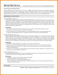 account executive resume 10 account executive resume letter adress
