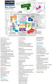 St Paul Campus Map Main Campus Forsyth Tech