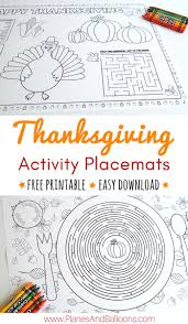 download thanksgiving songs placemats to color for thanksgiving free u0026 easy download