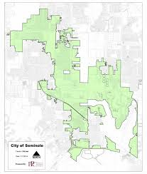 Pr Map City Of Seminole Municipal Map U2013 Seminole Chamber Of Commerce