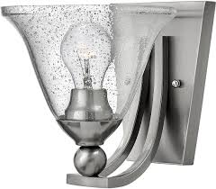 Wall Lighting Sconces Hinkley 4650bn Cl Bolla Brushed Nickel Wall Lighting Sconce Hin