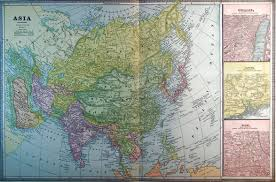 Map Of Asia by Map Of Asia 1886