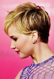 instructions for jennifer lawrece short haircut 15 amazing pixie cut for curly hair