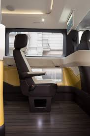 volkswagen minibus interior vw hops on the ride share bandwagon with the all electric moia minibus