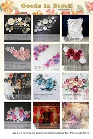 e flowers white diy craft fascinating paper flowers wholesale otag 44