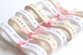 personalized ribbon for favors bulk ribbon wholesale ribbon 20 yards personalized twill ribbon