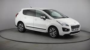 peugeot mini car used peugeot 3008 white for sale motors co uk